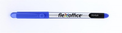 "Tűfilc, 0,3 mm, FLEXOFFICE ""FL01"", kék"