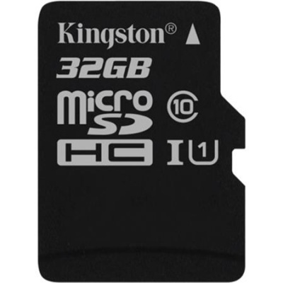 "Memóriakártya, microSDHC, 32GB, CL10/U1, 80/10 MB/s, KINGSTON ""Canvas Select"""